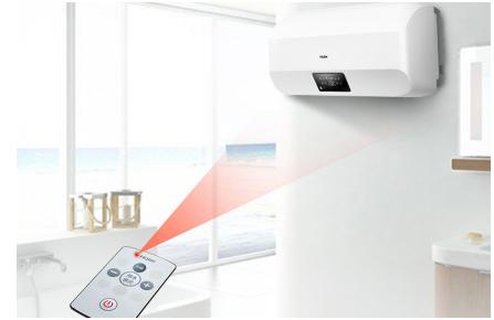 海尔电热水器:净享plus5卫生间宽度狭小空间安装