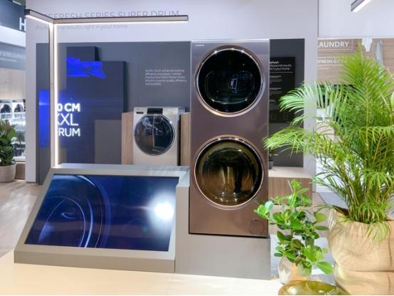 卡萨帝IFA展示融合洗衣机 颠覆欧洲洗烘场景